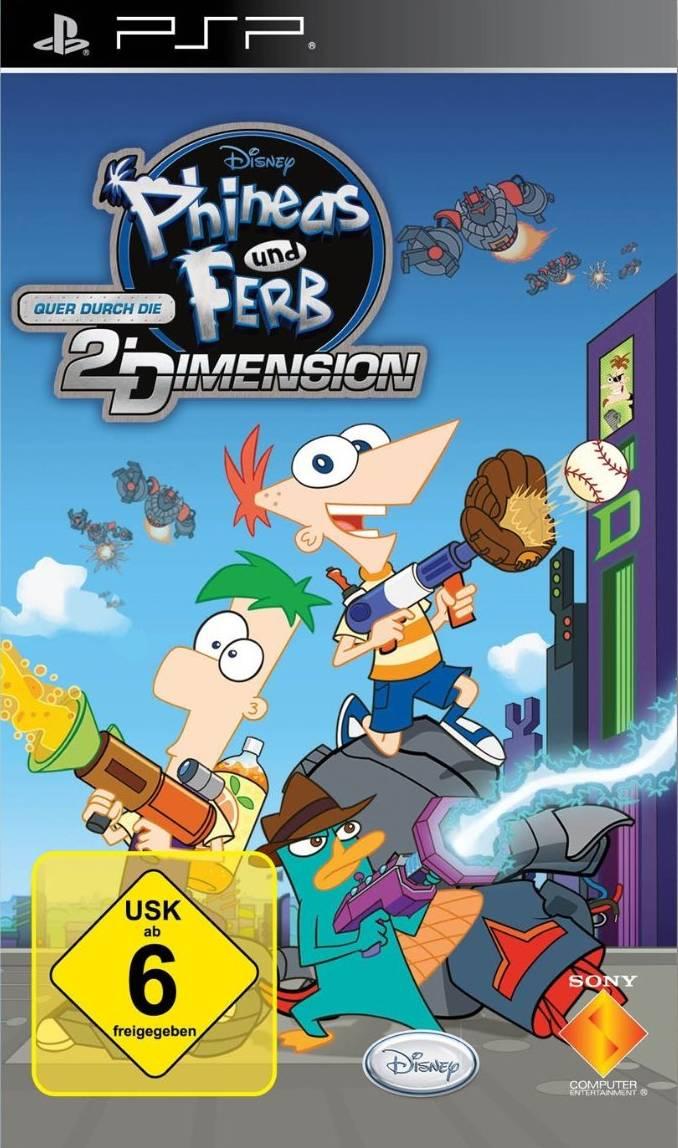 Phineas und Ferb – Quer durch die 2. Dimension