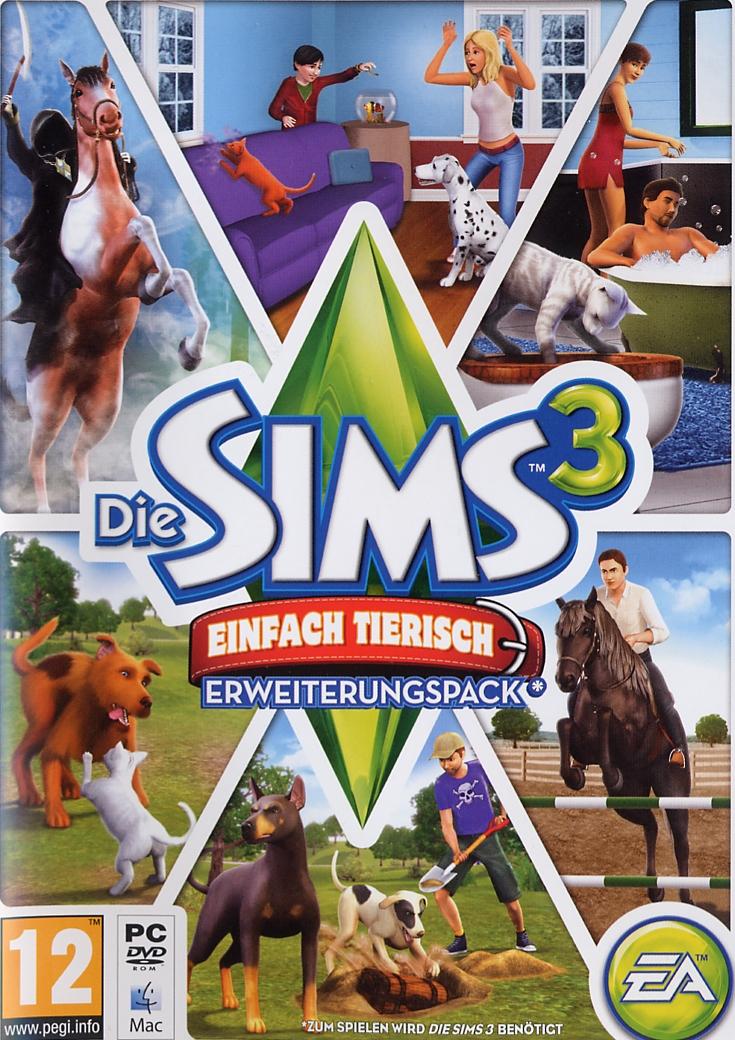 Review die sims 3 einfach tierisch vgphile for Sims 3 spielideen