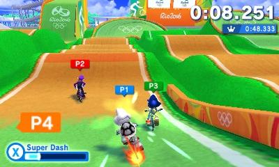 Mario Sonic Bei Den Olympischen Spielen Rio 2016 Bmx Vgphile