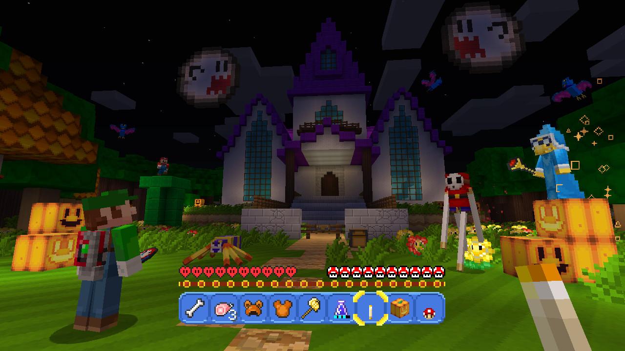 Review Minecraft Wii U Edition VGphile - Minecraft wii spielen