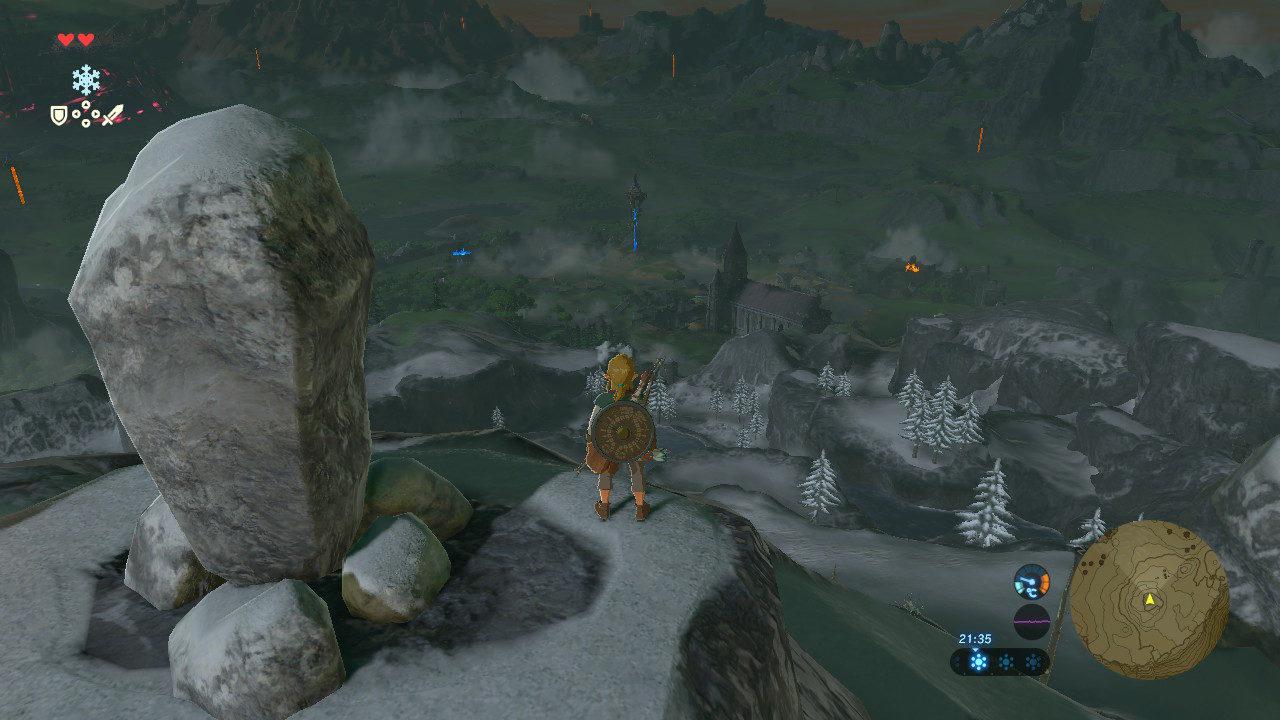 Kletterausrüstung Zelda : Kletterausrüstung zelda breath of the wild schreine